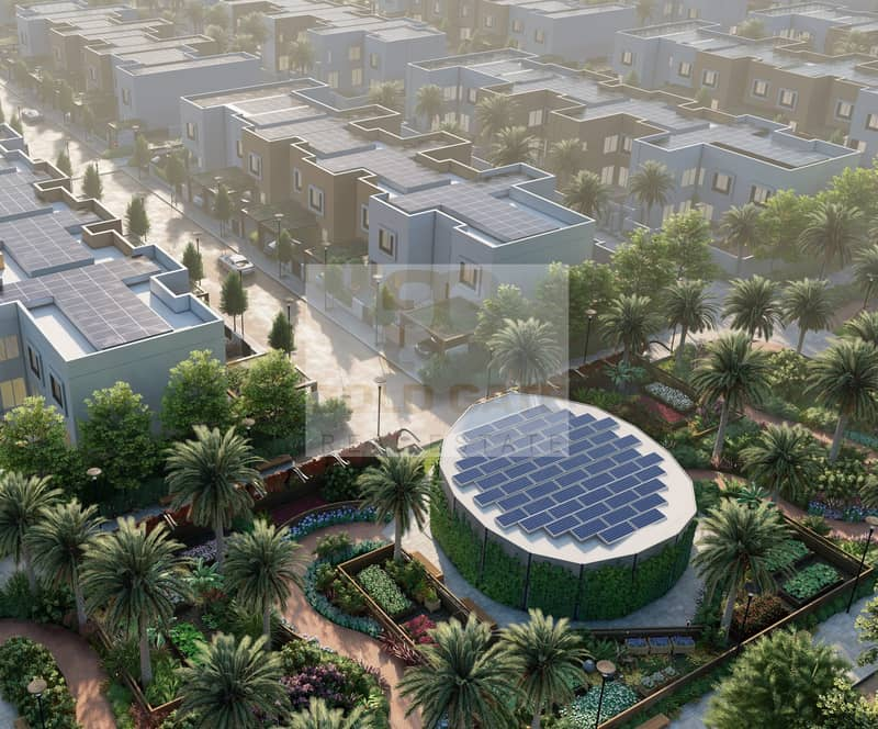 14 3 Bedroom In The First Gated Community Sharjah Sustainable City