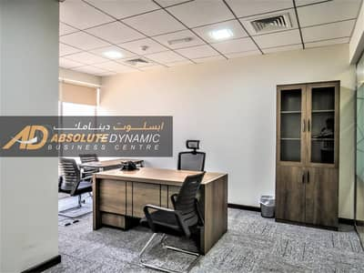 Office for Rent in Business Bay, Dubai - LUXURIOUS OFFICES IN THE HEART OF BUSINESS BAY - NO COMMISSION - PARKING AVAILABLE - EJARI + ESTHADAMA + ALL AMENITIES