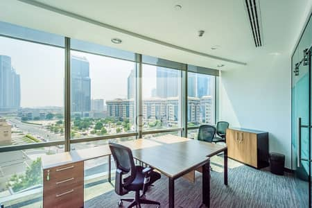 Office for Rent in DIFC, Dubai - Fitted and Furnished Office | Low Floor