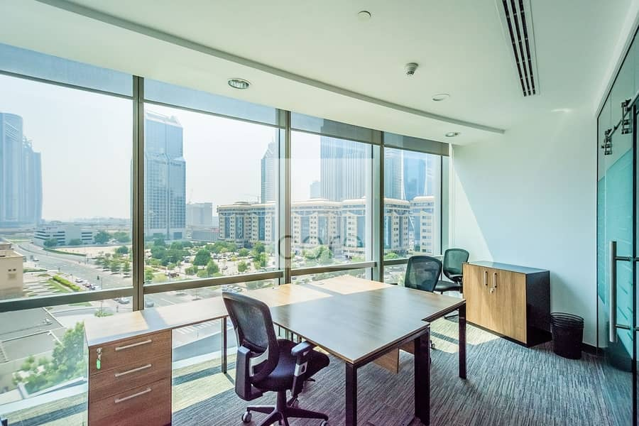 Fitted and Furnished Office | Low Floor