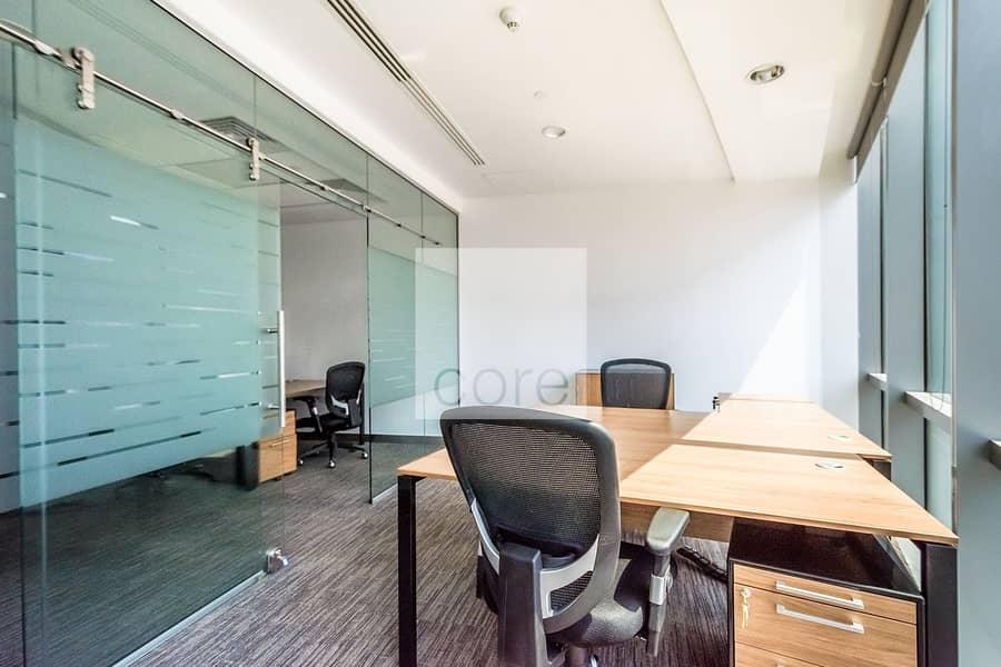 2 Fitted and Furnished Office | Low Floor