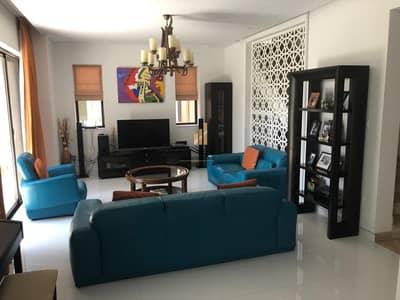 5 Bedroom Villa for Rent in Dubai Sports City, Dubai - UNFURNISHED CORNER 5 BHK + MAID + 6 BATH LARGE CORNER END UNIT