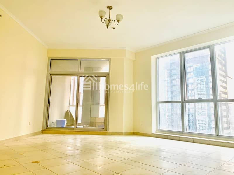 15 Chiller Free Unfurnished 2B/lBright Layout/High Floor