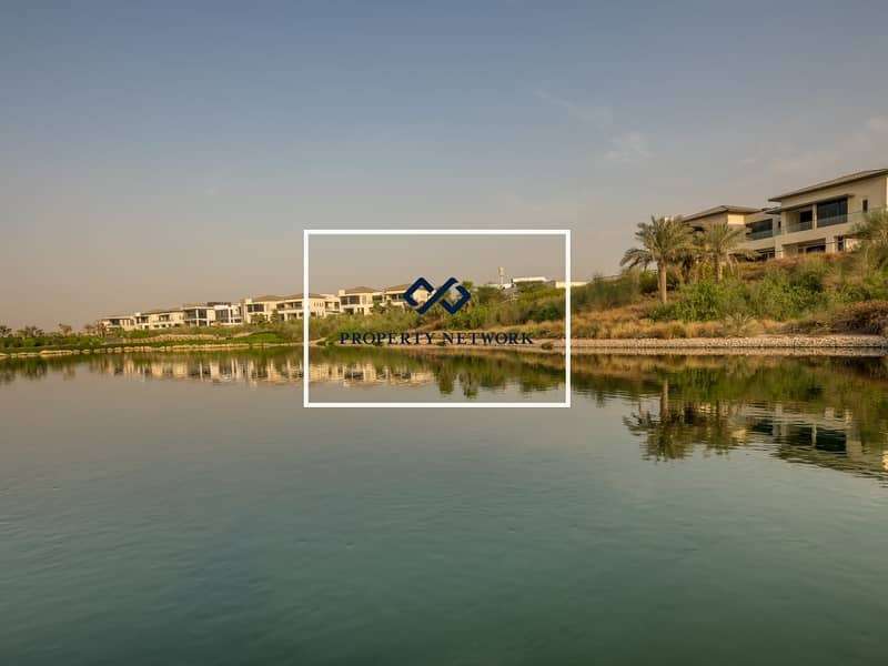 Villa Plot in Golf Course Community with Park View