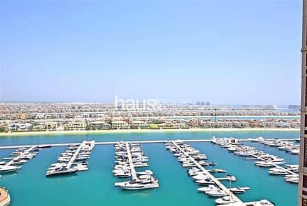 فلیٹ 2 غرفة نوم للايجار في نخلة جميرا، دبي - High floor   New listing   Amazing views