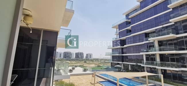 فلیٹ 2 غرفة نوم للبيع في داماك هيلز (أكويا من داماك)، دبي - Large bedrooms |Pool and Park View | Large terrace