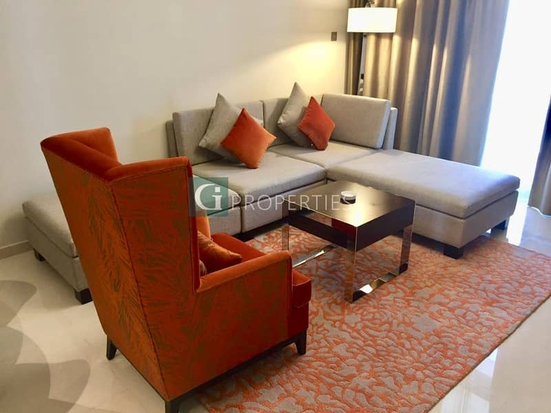 2 Golf View | Fully Furnished | Mid Floor