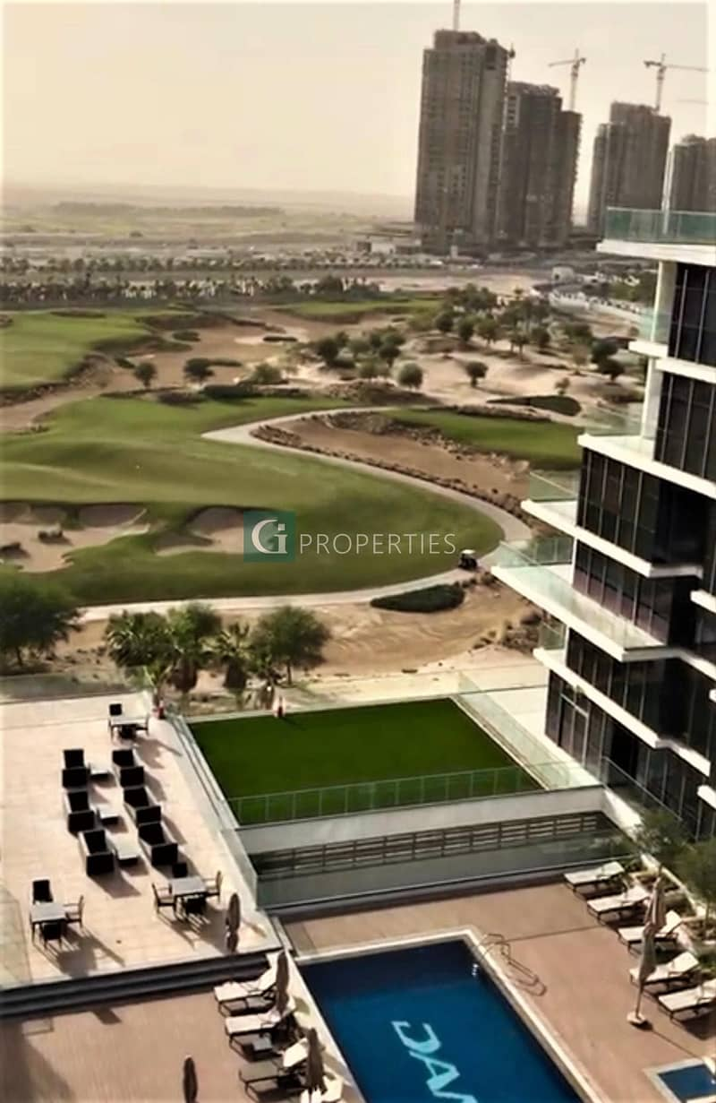 Golf Course View | High Floor | Fully Furnished
