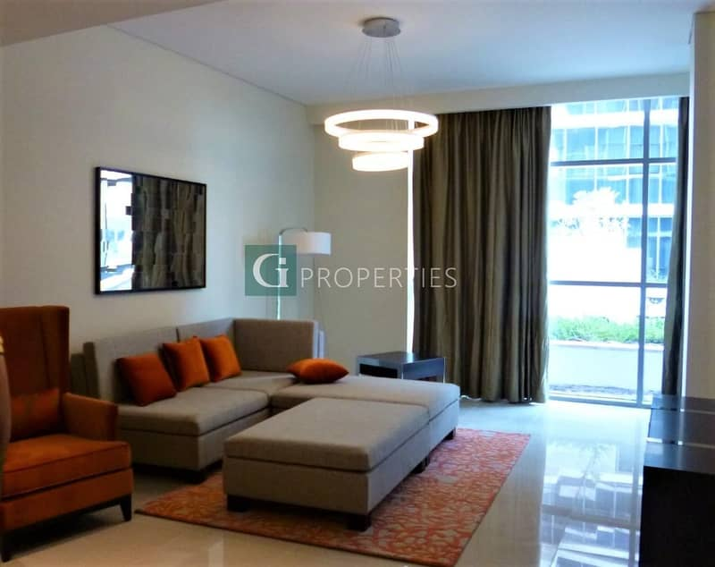 Fully Furnished | Golf and Pool View | Best Investment