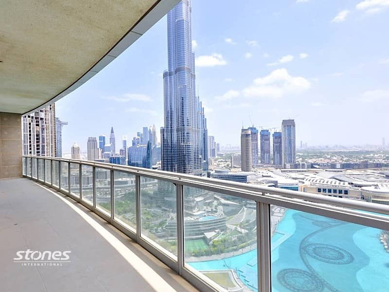 Penthouse |Panoramic Burj Khalifa & Fountain Views