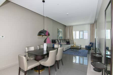 3 Bedroom Apartment for Rent in Business Bay, Dubai - Pool View | Big Size 3 Br | Fully Furnished