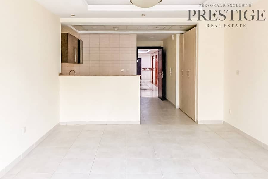 Chiller Free I Spacious Studio Apartment in Al Waleed Paradise for Rent