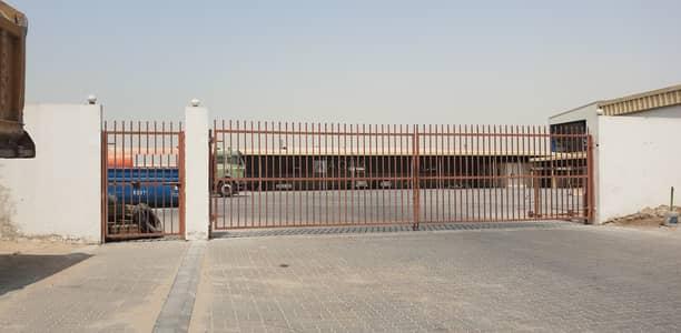ارض تجارية  للايجار في رأس الخور، دبي - Open Yard for Auto garage | Office | Shed