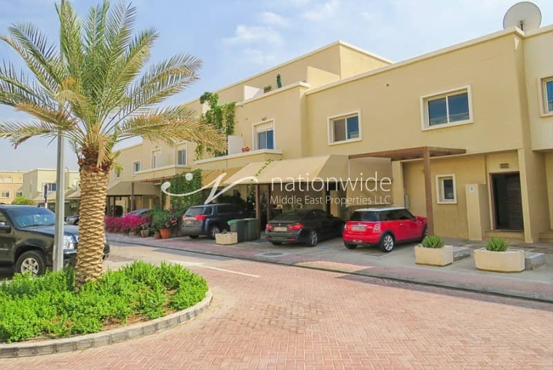 Vacant! Double Row 2 BR Arabian Villa In Al Reef