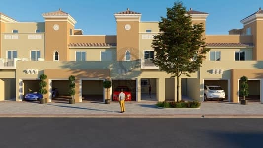 4 Bedroom Townhouse for Sale in Dubai Sports City, Dubai - Villa for sale in Dubai in golf course community