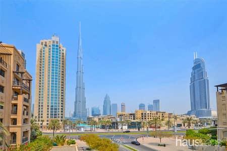1 Bedroom Flat for Rent in Old Town, Dubai - Corner unit | Full Burj Khalifa view | Vacant