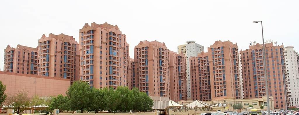 Naimiyah Towers: 3 Bed Hall and Maid 2366 sqft very spacious