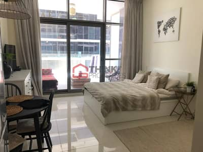 Studio for Sale in DAMAC Hills (Akoya by DAMAC), Dubai - Best Price Fully Furnished Large Studio Apartment