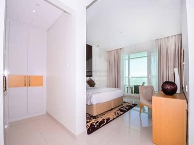 شقة 1 غرفة نوم للايجار في الخليج التجاري، دبي - Fully Furnished | Swimming Pool View | Multiple cheques