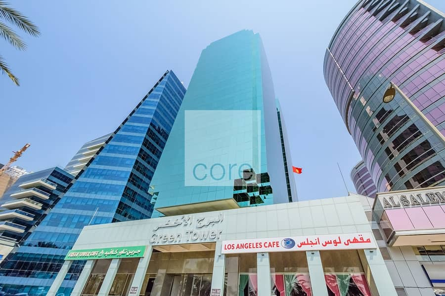 10 On High Floor | Available Fitted Office