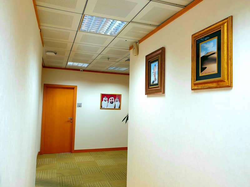 Smartly fitted office Space