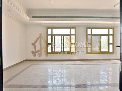 فلیٹ 4 غرف نوم للايجار في المشرف، أبوظبي - Villa apartment | 4BR | Maids+Balcony+Parking