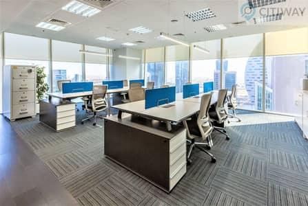 مکتب  للايجار في الخليج التجاري، دبي - Smart Internal Offices | Business Center | Close to the Metro