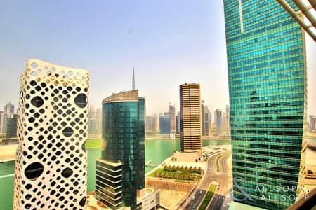 بنتهاوس 3 غرف نوم للبيع في الخليج التجاري، دبي - 3 Bed + Maid | Burj & Canal Views | Vacant