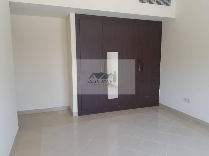 2 30 DAYS FREE 2BHK WITH BALCONY EQUIPPED  KITCHEN COVERED PARKING 10 MINUTES BY WALK TO AL NAHDA POND PARK AVAIL IN 44K