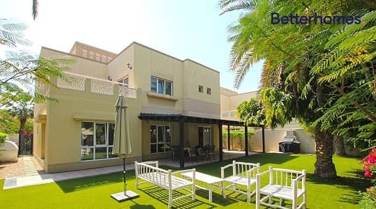 4 Bedroom Villa for Sale in The Meadows, Dubai - UPGRADED   BEDROOM DOWNSTAIRS   SINGLE ROW