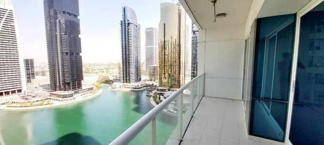 1 Bedroom Apartment for Rent in Jumeirah Lake Towers (JLT), Dubai - Front Of Metro Station 1 BHK only For  46k