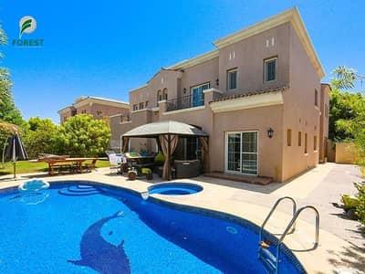 فیلا 6 غرف نوم للايجار في المرابع العربية، دبي - Amazing 6BR Villa with Private Swimming Pool
