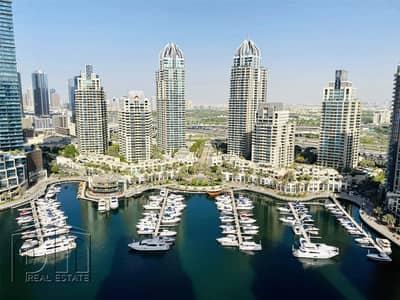 2 Bedroom Flat for Rent in Dubai Marina, Dubai - Marina View | Available | Unfurnished