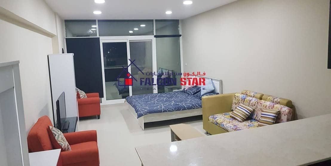 BIGGEST LAYOUT - FURNISHED STUDIO l JUST PAY ONLY 2