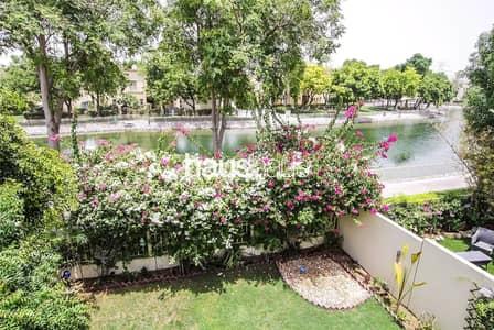 فیلا 2 غرفة نوم للايجار في الينابيع، دبي - Partially upgraded | Lake view | Available 18th!