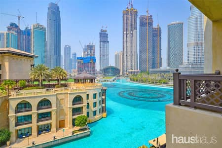 1 Bedroom Flat for Rent in Downtown Dubai, Dubai - Fountain/Burj view | Furnished | Vacant