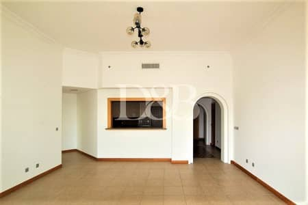 بنتهاوس 2 غرفة نوم للايجار في نخلة جميرا، دبي - Penthouse | Partially Furnished 2 BR | D Type