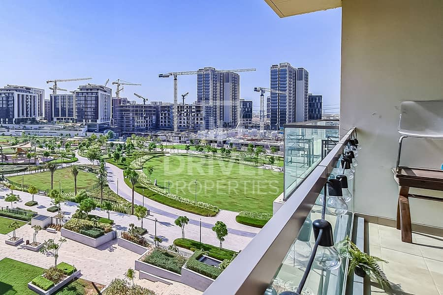 Stunning and Park Facing 2 Bedroom Apartment