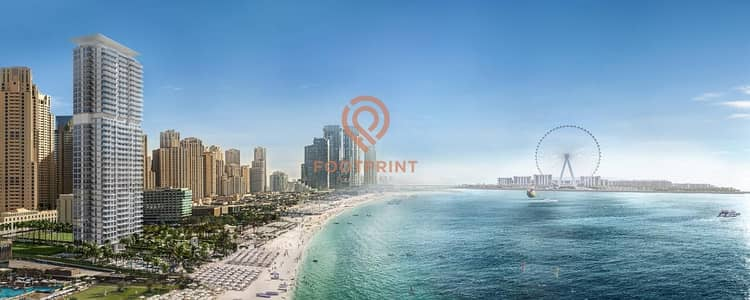 4 Bedroom Penthouse for Sale in Jumeirah Beach Residence (JBR), Dubai - Unobstructed Gulf Sea & Palm Facing 4 BR+Maid's | Full Sea View Unit