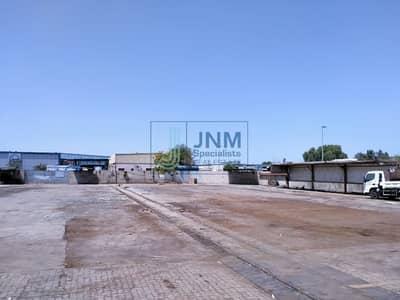 ارض تجارية  للايجار في القوز، دبي - Warehouse + Commercial Land with Offices
