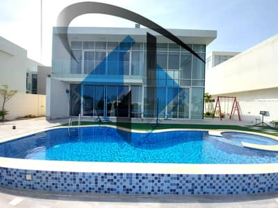 Luxury villa overlooking the golf course in Ajman freehold