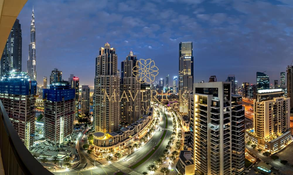 Furnished 3BR | Skyline View | High Floor