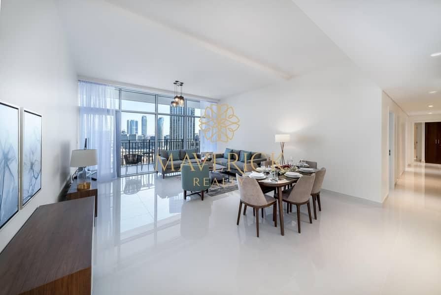 2 Furnished 3BR | Skyline View | High Floor