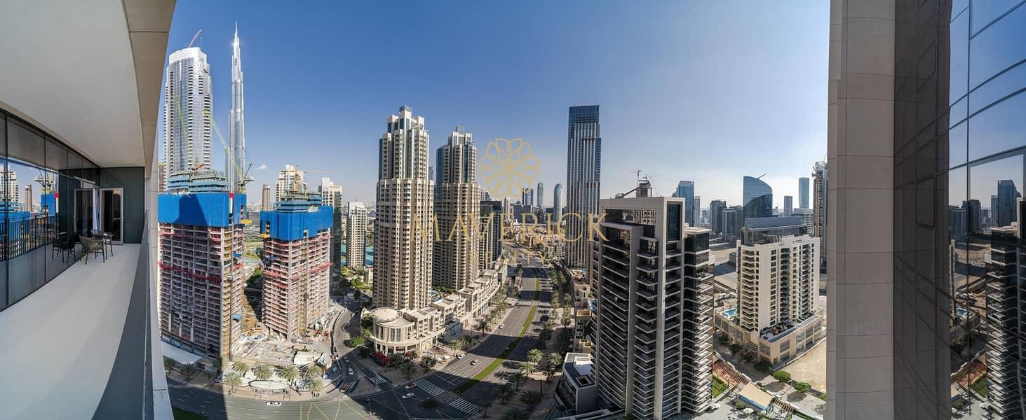 12 Furnished 3BR | Skyline View | High Floor