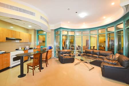 2 Bedroom Flat for Rent in Dubai Marina, Dubai - Fully Furnished 2 Bed Apt plus Storage Room