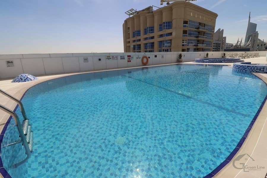 10 Fully Furnished Studio I Mid Floor I Very Well maintained!