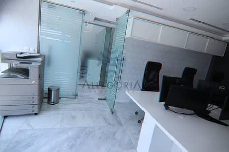 مکتب  للايجار في مركز دبي المالي العالمي، دبي - Fitted office: Furnished: Ready to move in