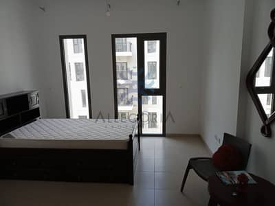Studio for Rent in Town Square, Dubai -  12 cheques