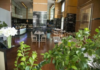 Other Commercial for Rent in Dubai Media City, Dubai - Fitted restaurant and kitchen:Hotel location:Business district