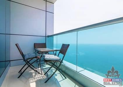 2 Bedroom Flat for Sale in Corniche Ajman, Ajman - Water Front Sea View 2 BHK Installment Plan I 5% Discount